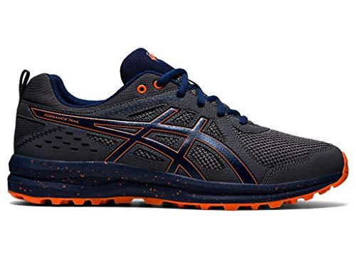 ASICS Men's Torrance Trail Running Shoes, 6.5M, Carrier Grey/Blue Expanse