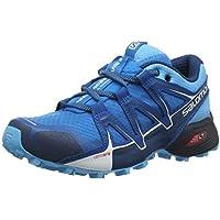 Salomon Speedcross Vario 2 W, Zapatillas de Running para Asfalto para Mujer, Azul (Hawaiian Surf/Aquarius/Mykonos Blue Hawaiian Surf/Aquarius/Mykonos Blue), 38 EU