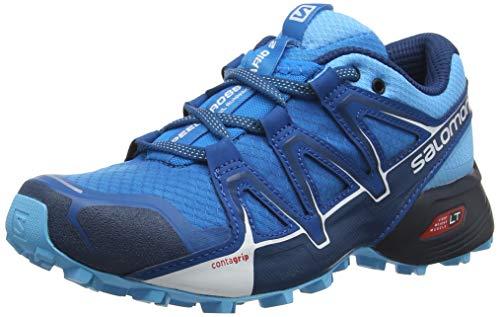 Salomon Speedcross Vario 2 W, Zapatillas de Running para Asfalto para Mujer, Azul (Hawaiian Surf/Aquarius/Mykonos Blue Hawaiian Surf/Aquarius/Mykonos Blue), 37 1/3 EU
