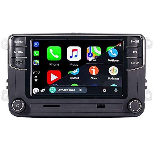 SCUMAXCON Coche Radio Carplay Android Auto RCD360 Pro RCD330 Estéreo Autoradio Bluetooth MirrorLink GPS USB Para Golf Passat Polo Tiguan Touran