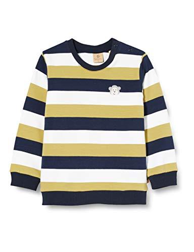 Bellybutton mother nature & me Baby-Jungen 1/1 Arm Sweatshirt, Mehrfarbig (Y/D Stripe|Multicolored 0001), (Herstellergröße: 86)