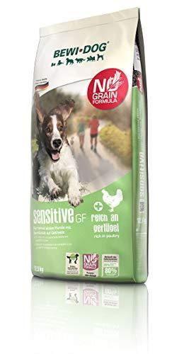 BEWI DOG Sensitive GF [12,5 kg] Hundefutter | Trockenfutter für sensible Hunde | getreidefrei | 80% tierisches Eiweiß | für Hunde aller Rassen
