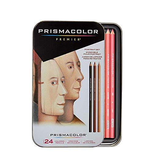 25085R, for Prismacolor Premier Colored Pencils, for Sanford, Portrait Set, Soft Core - 24 Count