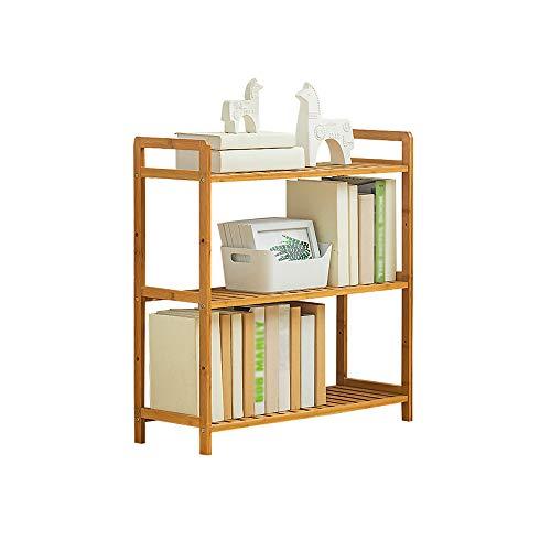 DS- Bibliothèque Bibliothèque - Étagère à Plusieurs étages avec étagères en Bois Étagère de Rangement pour bibliothèque && (Taille : 68x25x71cm)
