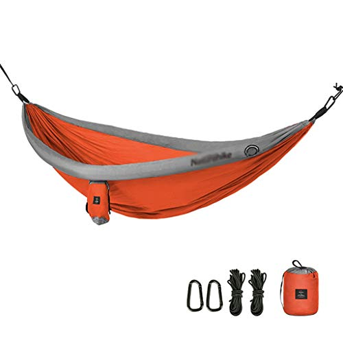Gxy Hammock Hangmat, outdoor-rolgordijn, met dubbele hanger, draagkracht 200 kg