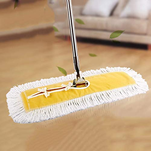 Fantastic Prices! QYLSH Business Strength Cotton Cloth Dust Mop - Replacement Fabric for Wet and Dry...