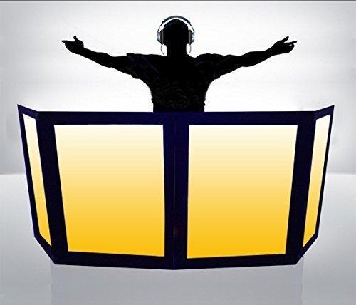 Sale!! DJ Facade / DJ Booth by Dragon Frontboards: Naga 2 LG 2 SM - 4 Panel / Black Frame