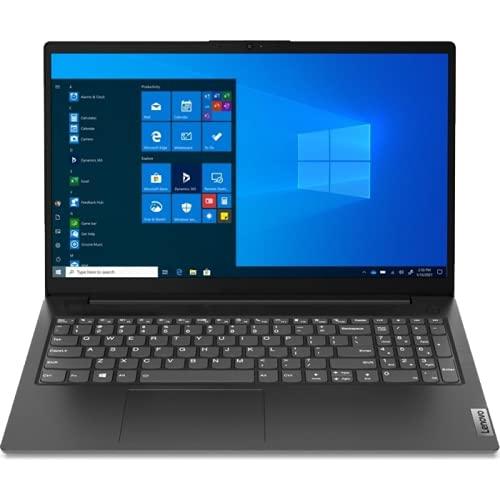 Lenovo (15,6 Zoll FullHD matt) Laptop (AMD Ryzen 5 5500U, 8GB RAM, 512GB M.2 SSD, AMD Radeon Graphics, WLAN, Bluetooth, HDMI, USB 3.0, Windows 10 Pro) Grau