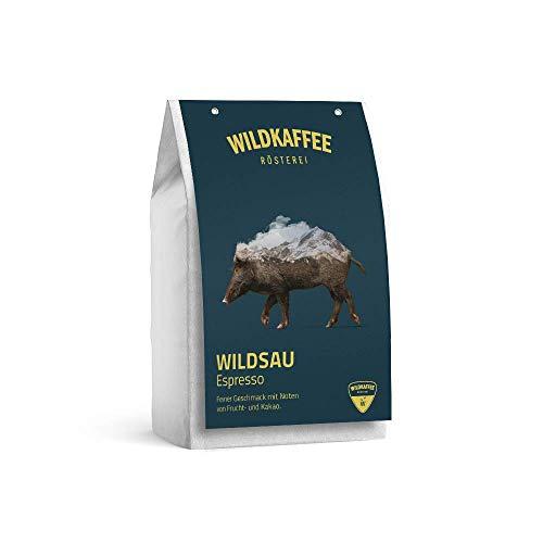 Wildkaffee Rösterei Wildsau Espresso 250 g, Ganze Bohne, WK10001.250.GB