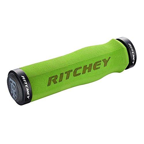 Ritchey WCS Locking Truegrip Empuñaduras de MTB, Hombre, Verde, Talla Única