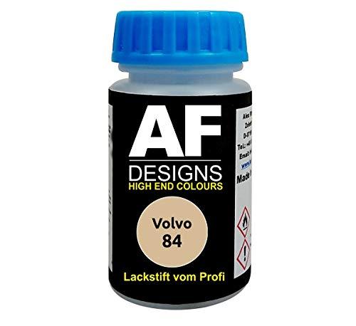 Lackstift für Volvo 84 Amazone Gelb schnelltrocknend Tupflack Autolack