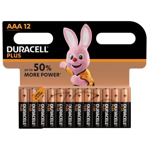 Duracell AAA Batterien, 12er Pack
