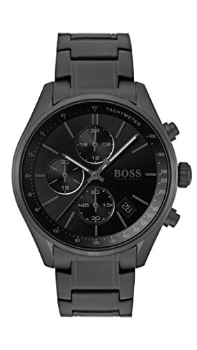 Hugo Boss Heren Chronograaf Quartz Horloge met RVS Band 1513676