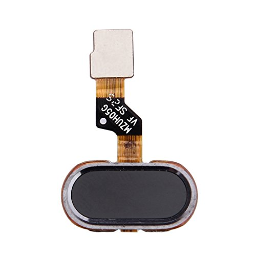 Dongdexiu Cellulare Accessori del Telefono Cavo Flex sensore di Impronte digitali for Meizu M3s / Meilan 3s (Nero) (Colore : Black)