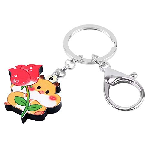Keychains Key Ring Halloween Cartoons Death Reaper Key Chain Keychain Ring Punk Decoration for Women Man Girls Teens Bag Charms