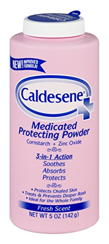 Caldesene Medicated Protecting Powder, Cornstarch & Zinc Oxide, Talc Free, 5oz
