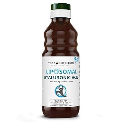 Liposomal Hyaluronic Acid - 250ml - No Artificial Preservatives - by Yoga Nutrition