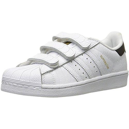 Adidas Originals Superstar Junior White Snake Leather 30 EU