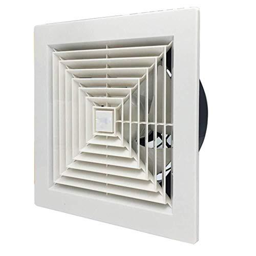 Ventilador de ventilación doméstico 12 Pulgadas Potente Ventilador De Ventilación, Cocina/Baño Silencioso Extintor Viruela En Línea De Escape Ventilador De Techo LITING