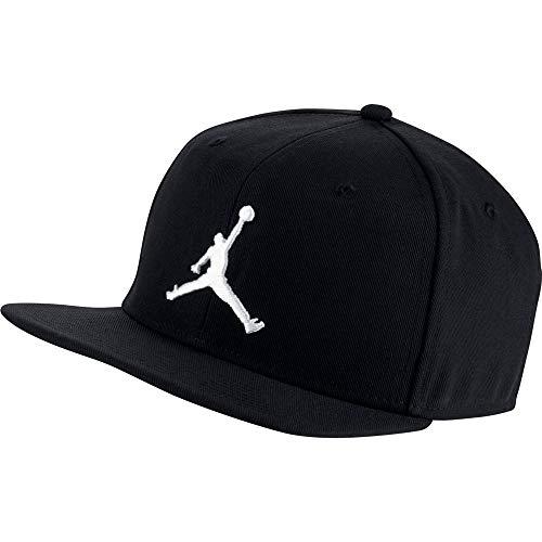 Nike Jordan PRO Jumpman Snapback Unisex – Adulto, Black/White, MISC