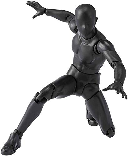 Bandai Tamashii Nations S.H. Figuarts Body-Kun DX Solid Black Ver. Actionfigur