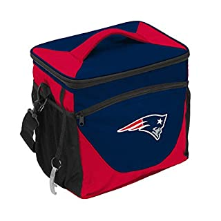 Logo Brands NFL New England Patriots 24 Can Cooler, One Size, Navy (B01MCWD3JN)   Amazon price tracker / tracking, Amazon price history charts, Amazon price watches, Amazon price drop alerts