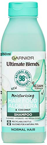 Garnier Ultimate Blends Aloe Vera Shampoo for Normal Hair, 350ml