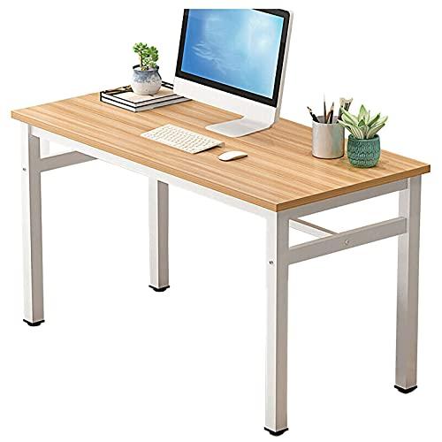 Escritorio de computadora rústico Mesa de escritura de estudio de 47,2 pulgadas Estación de trabajo de oficina en casa Escritorio del cuaderno del ordenador portátil de la PC Escritorio espacioso