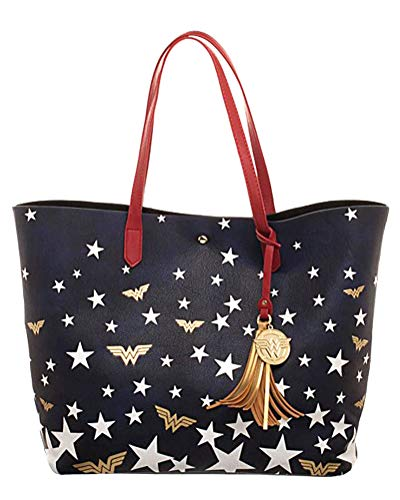 Wonder Woman Red White and Blue Oversized Bag