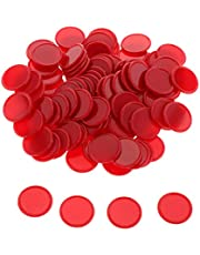 Sharplace 100pcs Fichas de Bingo de Plástico