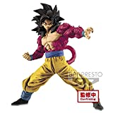 Ban Presto Dragon Ball Z - Figurine Super Saiyan 4 Full Scratch Son Goku, 19cm...