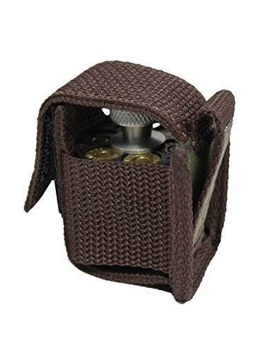 Barsony New Woodland Green Single Speed-Loader Pouch for 6 Shot .44 mag Revolvers
