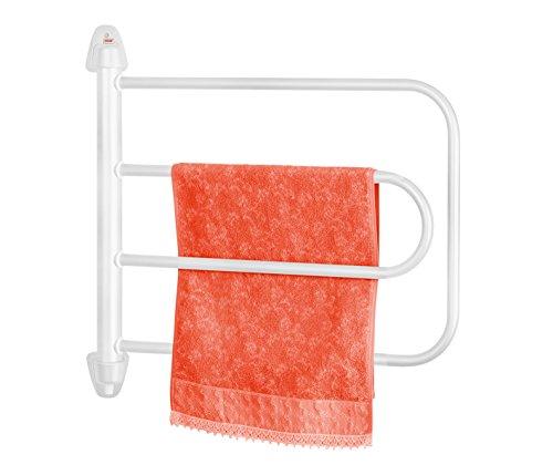 Orbegozo Th8003 Elektrischer Handtuchwärmer, schwenkbar, 65W, 4Heizelemente, Weiß