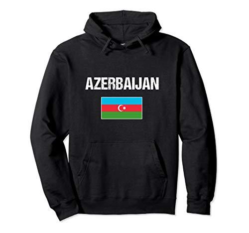 Aserbaidschan Flagge Aserbaidschanische Geschenk Azerbaijan Pullover Hoodie