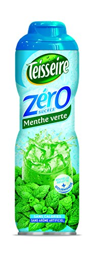 Teisseire Sirope Menta verde 0% azùcar - 0,6 cl