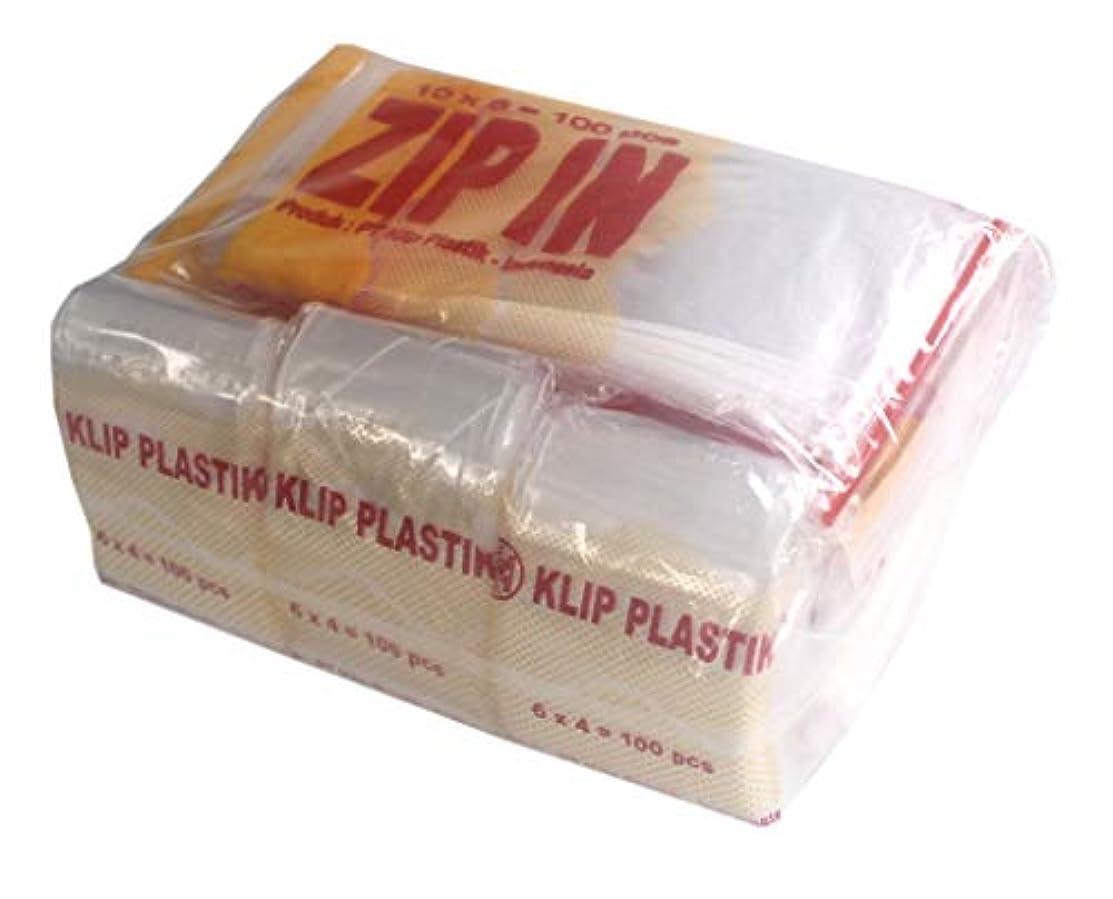 800 Clear Ziplock Poly Bags by Zip in