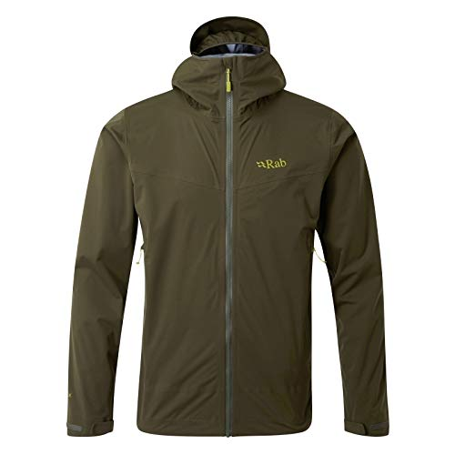 RAB Kinetic Plus Jacket - Men's Army M