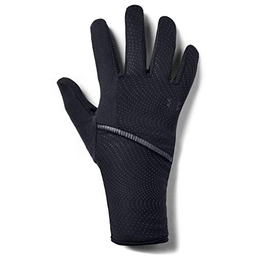 Under Armour Storm Run Liner Guantes, Mujer, Negro, XL