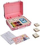 Multiprint Disney Frozen 42883 - Paquete de sellos de caucho y madera natural, azul