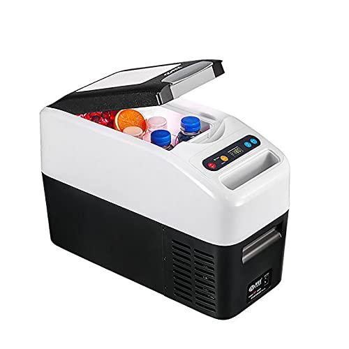 PEIHAN Congelador portátil de 17 Cuartos (16L) con Cubierta aislada Refrigerador portátil Refrigerador para vehículos recreativos (0 ℉ ~ 50 ℉) Coche para Paseos en Bote, Camping, Viajes por Carretera