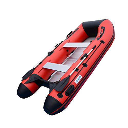 BRIS 10ft Inflatable Boat Inflatable Rafting Fishing Dinghy Tender Pontoon Boat