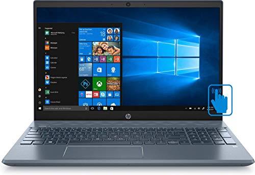 2020 Newest HP Flagship Business Laptop 15.6' Full HD (1920x1080) Touchscreen - Lightning Fast 10th Gen Intel core i7-1065G7 - 16GB RAM 512 GB SSD GeForce MX250 Fog Blue (Renewed)