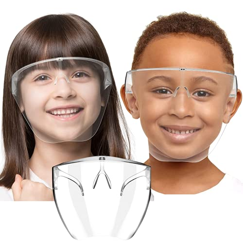 Sister Full Face Shield For Kids Above 6 Years | Anti-fog, Washable, fits Perfectly | POLYCARBONATE HD VISION Shield By Weekend Inc.