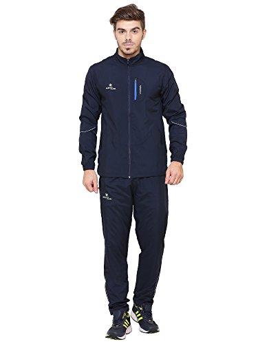 Sport Sun Navy Blue Polyester Track Suit