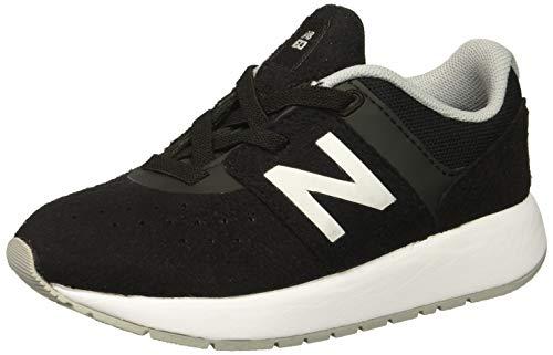 New Balance NB18-KA24V1I-Infant Boys, Chaussures souple pour bébé (garçon) - - Black/Silver Mink, 38 EU