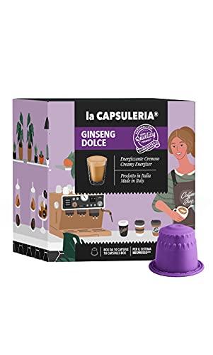 La Capsuleria - Capsule compatibili NESPRESSO - GINSENG DOLCE (80 Capsule)