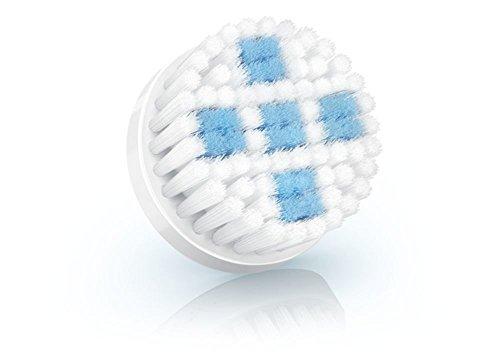 Philips SC5996/00 Ersatzbürstenkopf für VisaPure, porentiefe Reinigung, weiß/blau
