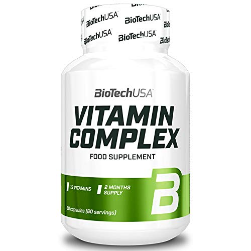 Vitamin Complex | Food Supplement | Multivitamin | Multimineral | for Men and Women (60 Capsules)