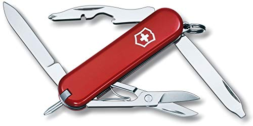 Victorinox Taschenmesser Classic, Manager, 10 Funktionen, rot