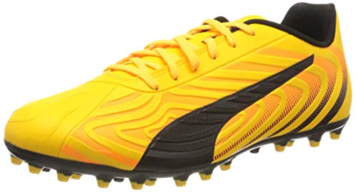 PUMA Herren One 20.4 Mg Dusch- & Badeschuhe, Gelb (Ultra Yellow Black-Orange Alert), 43 EU